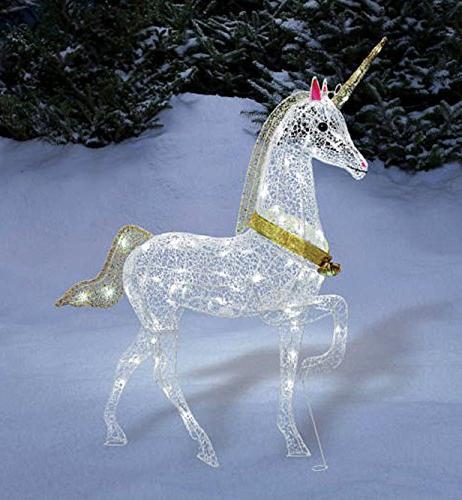 Christmas Glitter Yard Art /