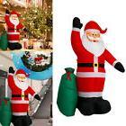 8 FT Christmas Inflatable Santa Claus Air Blown Yard Decorat