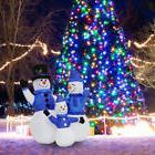 4 FT Christmas Inflatable Snowman Family Lighted Yard Decor