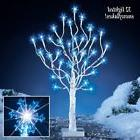 Christmas Lighted Tree Yard Decoration 32 Light Snowflake Ho