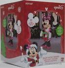 Christmas Disney 6 ft Minnie Mouse with Wreath Light Up Airb