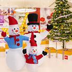 4' Christmas Snowman Inflatable Air Blown Outdoor Blow Up Ga