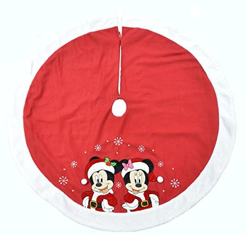 christmas tree skirt minnie mickey