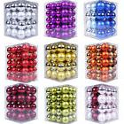 48Pcs Christmas Tree Xmas Balls Decor Baubles Party Wedding