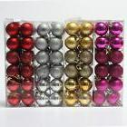 24pcs Christmas Tree Xmas Balls Decorations Baubles Party We