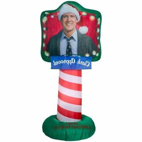 christmas vacation inflatable airblown clark griswold yard