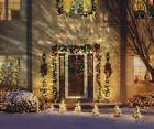 GEMMY Christmas White Kaleidoscope LED Light Show Projector