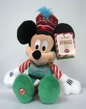 Hallmark Christmas XKT1236 Mickey Mouse Nutcracker Sweets Pl