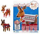Elf on the Shelf Claus Couture Fa-La-La Reindeer Pajamas OR