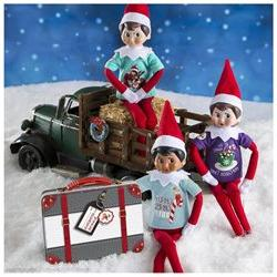 The Elf on the Shelf Claus Couture Sweet Tees - 3 Piece Set