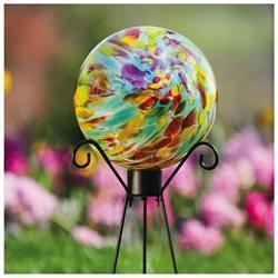 Colorful Confetti Glass Gazing Ball