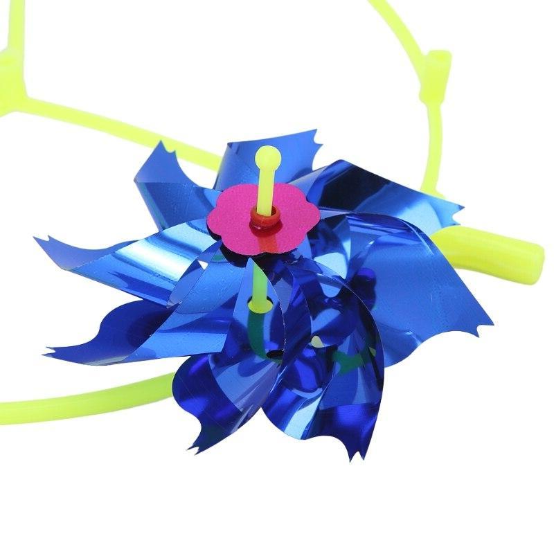 HBB DIY Windmill Wind Garden <font><b>Decoration</b></font> Kids Toys