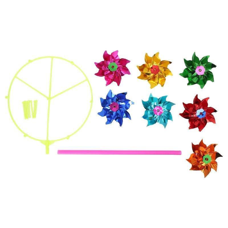 Windmill Wind Home Garden <font><b>Decoration</b></font> Toys
