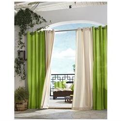 Outdoor De cor Gazebo Outdoor Stripe Grommet Top Curtain Sin