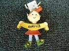 Cute Ganz Encore Personalized Name Christmas ELF ORNAMENT  A