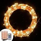 Cymas LED String Lights Dimmable, Starry String Light Copper