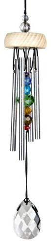 Woodstock Décor Designs, Gem Drop Chime- Prism