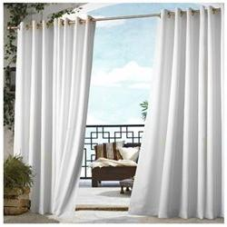 Outdoor Dcor Gazebo Outdoor Solid Grommet Top Curtain Panel