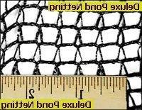 Green Vista Deluxe Knitted Pond Net/netting- 15' X 20' Size