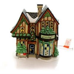 Department 56 House Finest Greenery Sounds Christmas Dickens