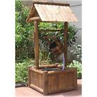 Stonegate Designs Wishing Well with Fountain - Square Base,