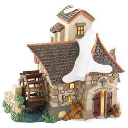 Dickens Village Brandon Mill Lighten Christmas Figurine