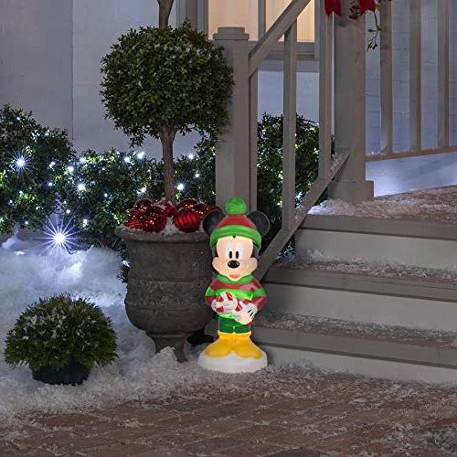 Disney Mickey Mouse Figure Blow Mold Yard Christmas Light Lighted