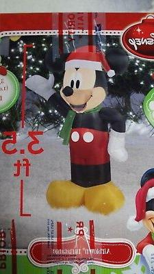 DISNEY MICKEY MOUSE CHRISTMAS AIRBLOWN INFLATABLE LED LIGHTS
