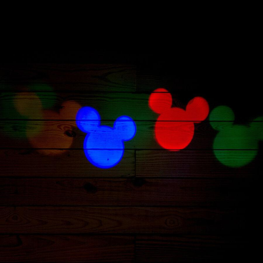 Flurry LED Projection Outdoor