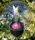 Disney Tinkerbell Solar LED Globe Stakes Garden Outdoor Walk