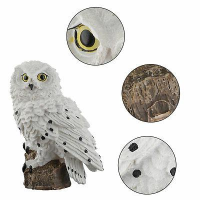 Outdoor Lights Owl Decor Lawn Light