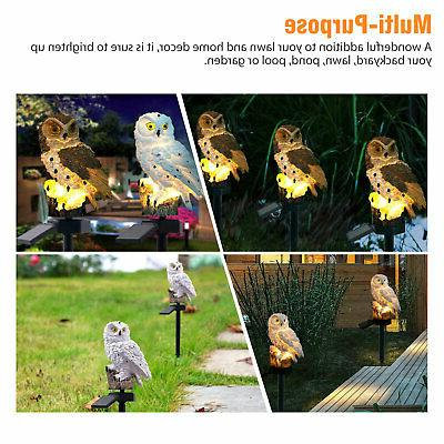 Outdoor Lights Owl Lawn Yard Light