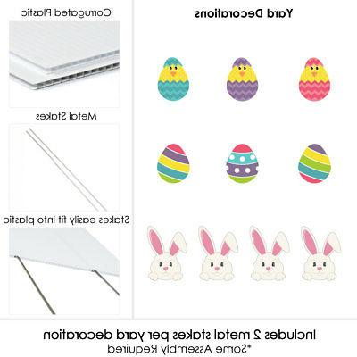 Yard Decorations Easter Decorations 10 Pc