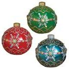 "NEW Large 18"" Electric Lighted Poly-resin Ornament Christmas"