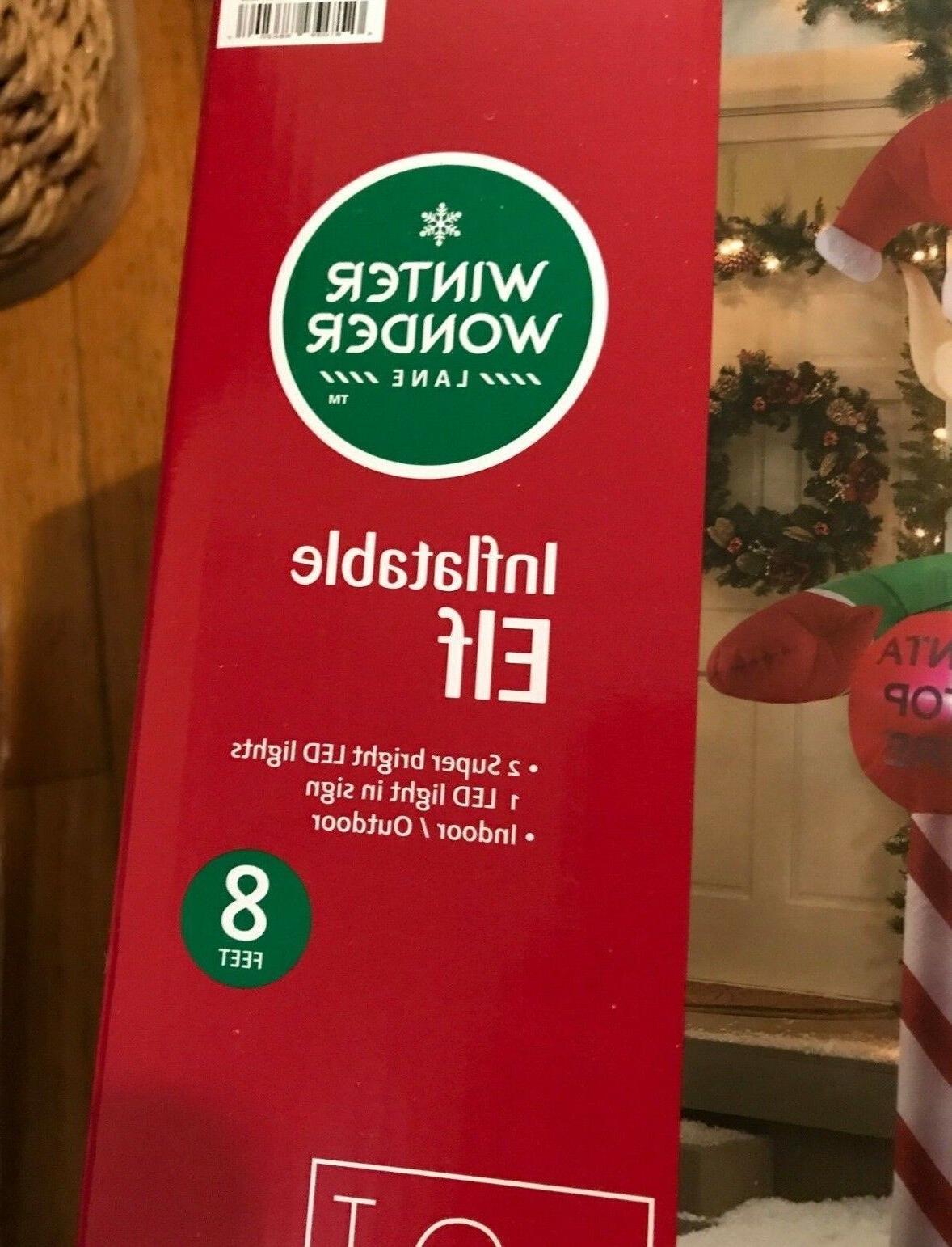ELF FT Gemmy Christmas Yard
