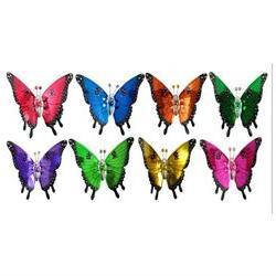 Exhart EX50201 7 in Windy Wings Butterfly Garden Stake Asst