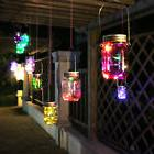 3x LED Fairy Light Solar Mason Jar Lid Insert Colorful Light