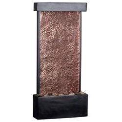 Falling Water Table-Wall Fountain in Oil Rubbed Bronze with