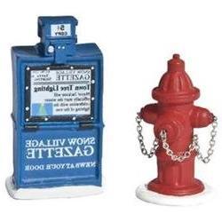 Fire Hydrant, Paper Box Department 56 Accessory