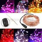 Flexible 10M LED Copper Wire String Fairy Light Christmas Pa