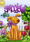 "FM166 WELCOME DOG FLOWERS SPRING SUMMER HOME 12""x18"" GARDEN"