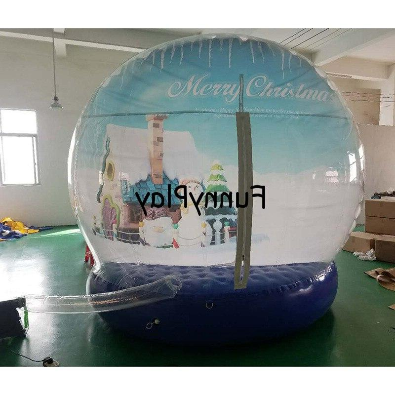 Christmas globle tent,blow up tents,inflatable <font><b>yard</b></font>