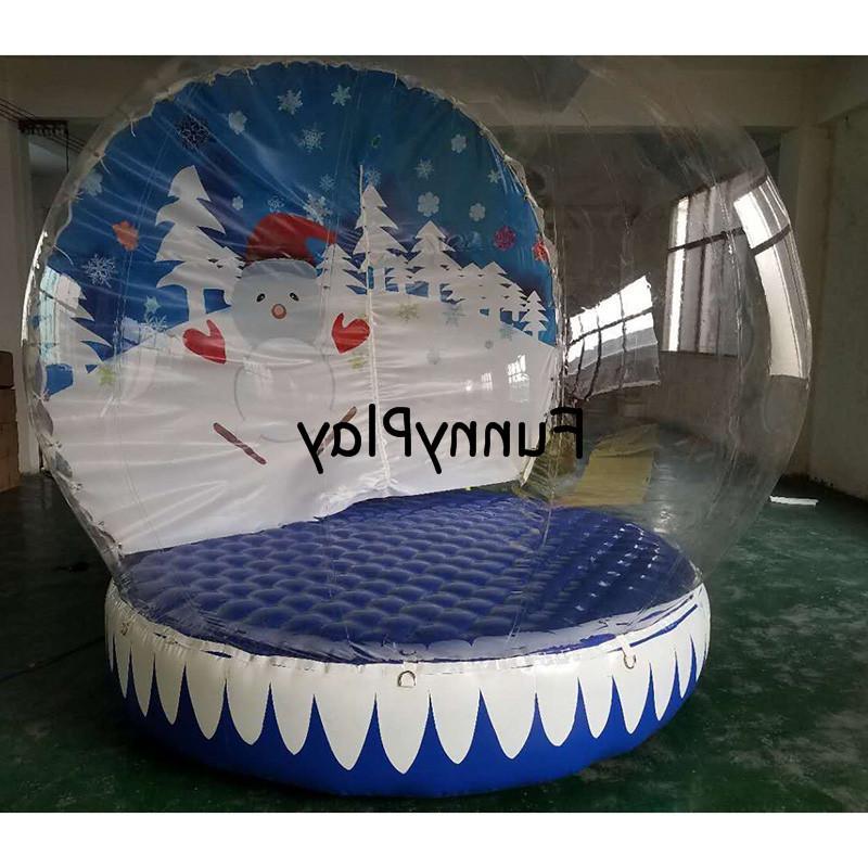 <font><b>snow</b></font> Christmas <font><b>Decoration</b></font>,inflatable globle tents,inflatable <font><b>yard</b></font> tent