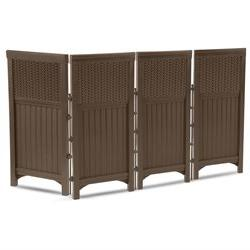 Suncast FSW4423 RESIN WICKER SCREEN ENCLOSURE