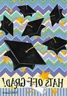 Garden Flag, Graduation, Hats Off Grad