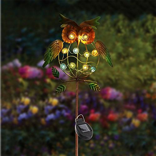 TAKE Garden Lights Outdoor,Solar Powered Stake Lights LED Decorative Garden for