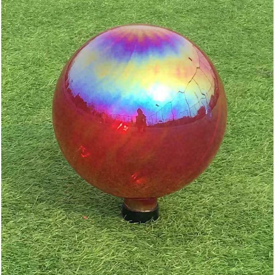 .Gazing Hand-Blown Glass Outdoor Garden Sun Decor in