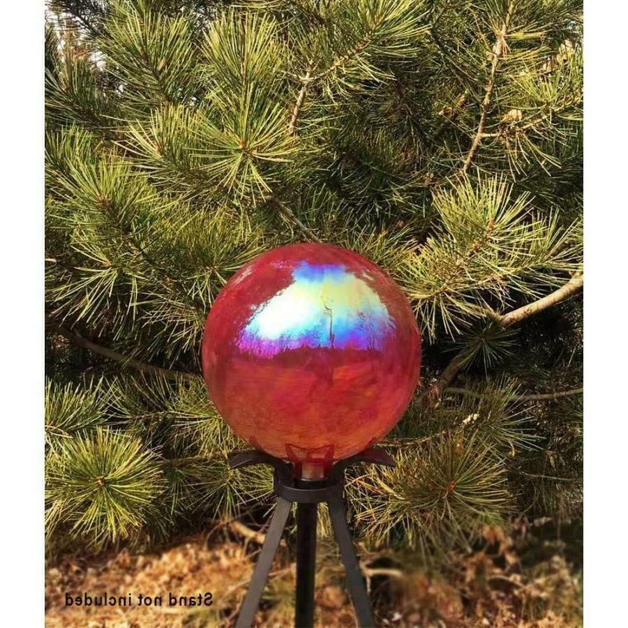 .Gazing Ball Outdoor Sun in