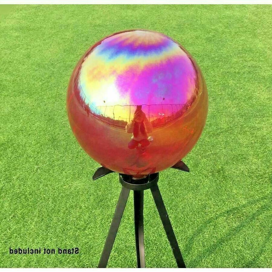 .Gazing Ball Outdoor Yard Sun Decor in