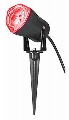 Gemmy LED LightShow Spotlight Red